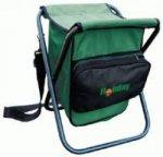 Стул складной с рюкзаком H-2027 BACK PACK. прочный нейлон.  Розничные цены.  0,8.