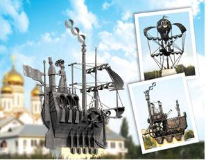 Монументальные декоративно-скульптурные композиции «Транспорт»