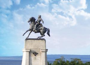 Памятник В. Н. Татищеву – основателю города Тольятти