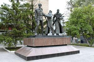 Монументально-скульптурная композиция «За власть Советов»
